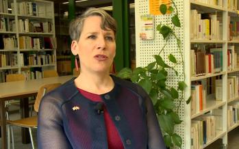 Lycée-Collège des Creusets : ambassadrice américaine en visite