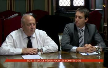 Sion: exercice réussi pour les comptes 2015