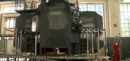 La centrale hydroélectrique de Bramois vue de l'intérieur