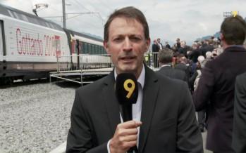 Gothard: moment historique avec l'inauguration du plus long tunnel ferroviaire au monde