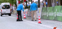 Le 80e Tour de Suisse de passage à Brigue avec une étape difficile pour les coureurs