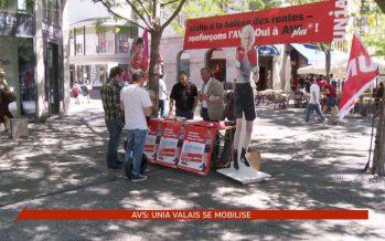 Unia Valais lance sa campagne pour renforcer l'AVS. Le peuple vote en septembre