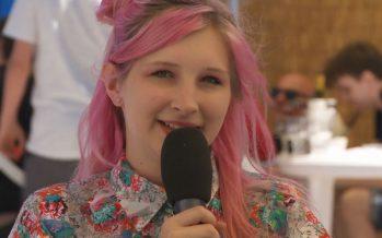 Sion sous les étoiles: interview d'Alice on the Roof
