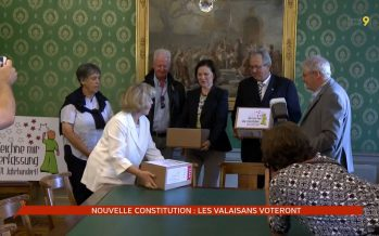 Nouvelle Constitution: les Valaisans voteront