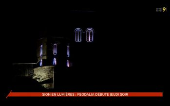 Sion en lumières: Feodalia débute jeudi soir 14 juillet