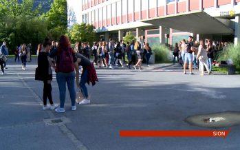 Rentrée scolaire: 2500 apprentis sur les bancs d'école au Centre professionnel de Sion