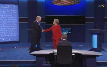Présidentielle américaine: regards valaisans sur le débat Clinton – Trump