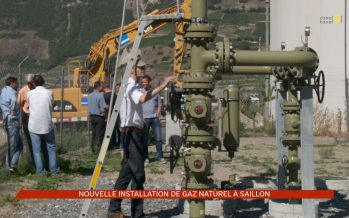 Une nouvelle installation de gaz naturel inaugurée à Saillon