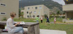 L'habitat collectif, une solution pour une utilisation rationnelle du territoire? Exemple à Martigny
