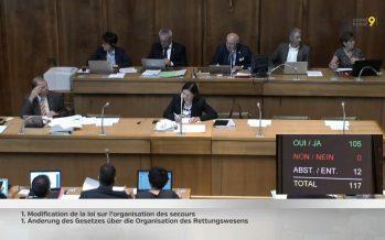 Zoom sur la nouvelle loi sur les secours adoptée ce jeudi au Grand Conseil