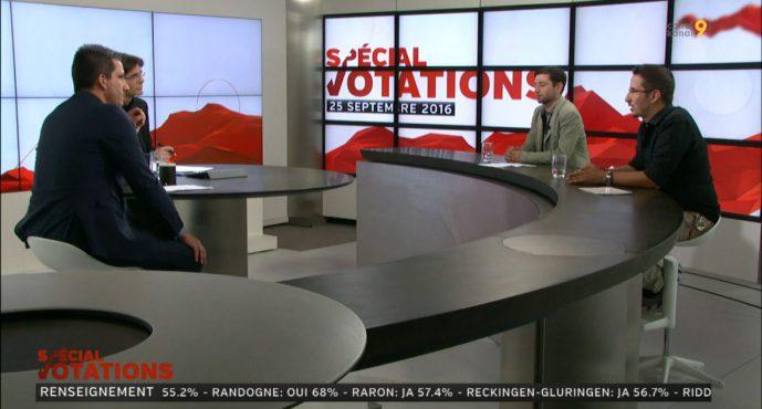 Zoom sur les votations nationales et cantonales du 25 septembre 2016