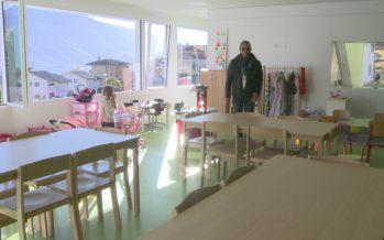 Inauguration de l'agrandissement de du centre scolaire de Miège
