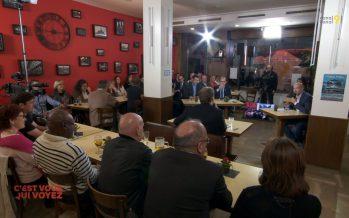 COMMUNALES 2016: débat présidentiel à Sierre