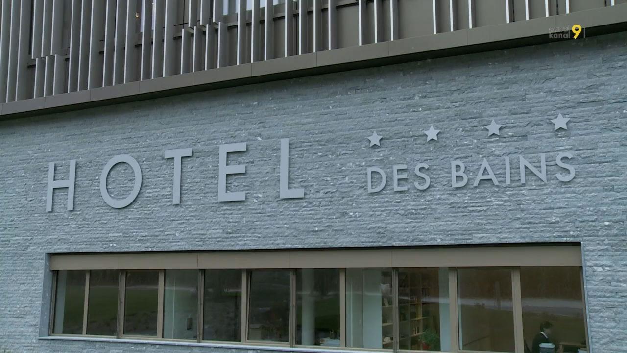 Le nouveau complexe h telier des bains de saillon a t for Hotel des bains de saillon