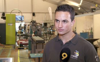 Le Fribourgeois Carlos Costa participe au championnat metalskills. Interview