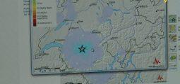 Tremblement de terre: 4,2 la plus forte secousse de l'année