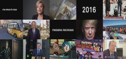 Humour: Frédéric Recrosio fait sa revue de l'année 2016 au Théâtre de Valère