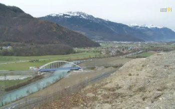 Demande de concession déposée pour une centrale hydroélectrique sur le Rhône à Massongex – Bex