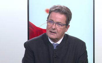 Lundi, Jean-René Fournier sera nommé 2e vice-président du Conseil des Etats. Puis président en 2018