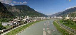 Coup de projecteur sur l'A9 dans le Haut-Valais et la 3e correction du Rhône