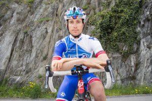 Martigny le, 21 avril 2016 : Sébastien Reichenbach , Coureur cycliste professionnel pour FDJ.©Sacha Bittel/Le Nouvelliste