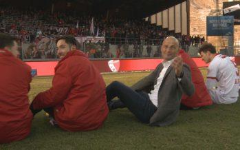 FC Sion: public, joueurs, président… tous fans de Peter Zeidler!