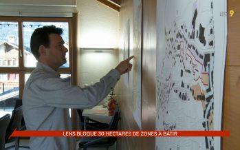 Aménagement du territoire: Lens bloque 30 hectares de zones à bâtir