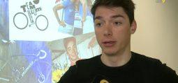 Le jeune cycliste valaisan Simon Pellaud en route pour les USA. Interview