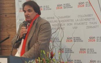 Zoom sur Sion 2026: le point sur les candidatures suisses en lice. Interview de Christian Constantin