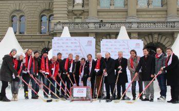 Sion 2026: la candidature suisse romande aux Jeux olympiques officiellement lancée à Berne