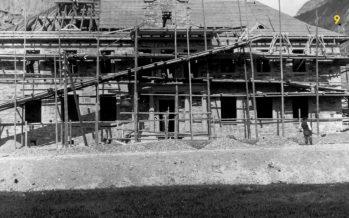 Témoin du patrimoine du Valais industriel, le Foyer Alusuisse a été réhabilité