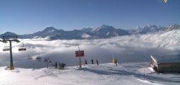 À Belalp, les prévisions météo déterminent le prix du forfait ski