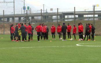 Le FC Sion de retour à l'entraînement