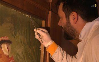 Travaux au Grand Conseil: la fresque d'Ernest Biéler mise en sécurité
