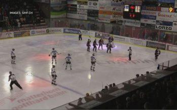 Red Ice s'incline face à la Chaux-de-Fonds; Viège bat Olten