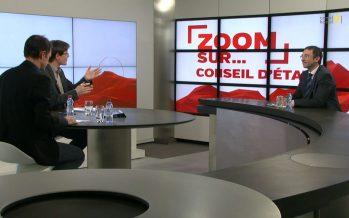 Zoom sur Frédéric Favre, candidat PLR au Conseil d'Etat. «La figure dont je me sens proche: Pascal Couchepin»