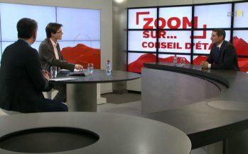 Zoom sur Thierry Largey, candidat Les Verts: «Ni à gauche, ni à droite: je propose un équilibre. Mais dans un gouvernement à sept»