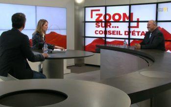 Zoom sur Claude Pottier, candidat PLR: «Un conseiller d'Etat doit avoir un esprit d'entrepreneur»
