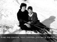 Le ski à Verbier en 1950, raconté en patois de Bagnes