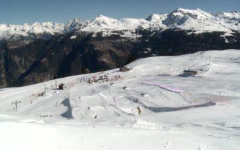 Vercorin inaugure son nouveau snowpark