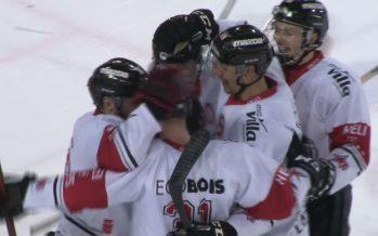 Hockey sur glace: Martigny Red Ice revient à 1-3 dans sa série face à Ajoie