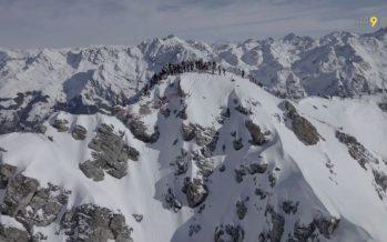 """Ski-alpinisme: au coeur de l'Intégrale du Rogneux, une course """"à l'ancienne"""""""