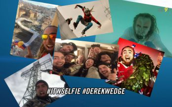 L'ITW Selfie: avec le spécialiste de Crashed Ice Derek Wedge