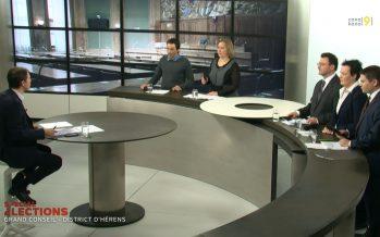 Débat avec les candidats au Grand Conseil (district d'Hérens)