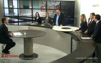 Débat avec les candidats au Grand Conseil (district de Martigny)