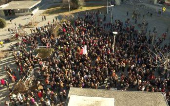 Campagne au Conseil d'État: manifestation à Sion et tout-ménage contre Oskar Freysinger