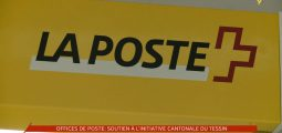 Offices de Poste: soutien à l'initiative cantonale du tessin