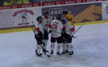Le Martigny Red Ice est décidément imbattable cette saison dans les derbys!