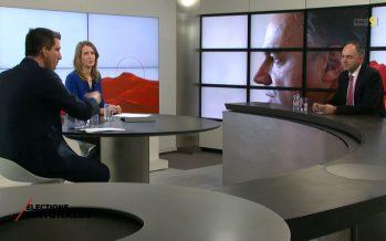 """Zoom sur Christophe Darbellay, candidat PDC: """"J'ai toujours mis le Valais en tête de mes préoccupations"""""""