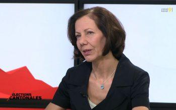 """Zoom sur Sigrid Fischer-Willa, candidate d'Ensemble à droite: """"La famille traditionnelle est de retour"""""""